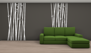 decowall bamboo bianco